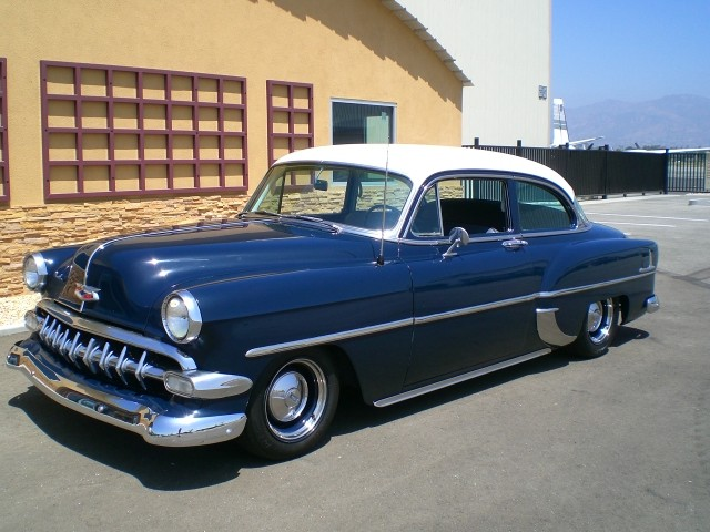 Sold  1954 Chevrolet Custom 2 Door California Car    Selling     Sold  1954 Chevrolet Custom 2 Door California Car