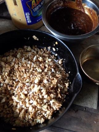 Toasting crust