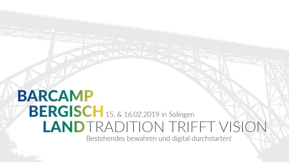 Barcamp Bergisch Land 15.-16.02.2019 Solingen