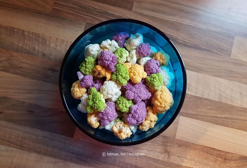 Bunt wie Brokkoli, Blumenkohl und Romanesco – ein Businessumbau (Bild: mit sehr freundlicher Genehmigung von @februar_fee via Instagram)