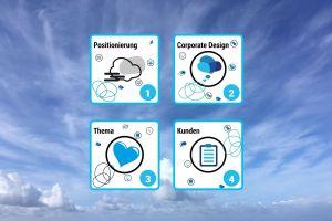 Die ersten vier Türchen im kumulus Adventskalender 2020: Positionierung, Corporate Design, Thema, Kunden