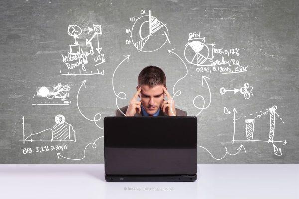 Perfektionismus in Social Media ablegen, damit die Überforderung nicht überhand nimmt. (Photocredit: feedough via depositphotos)