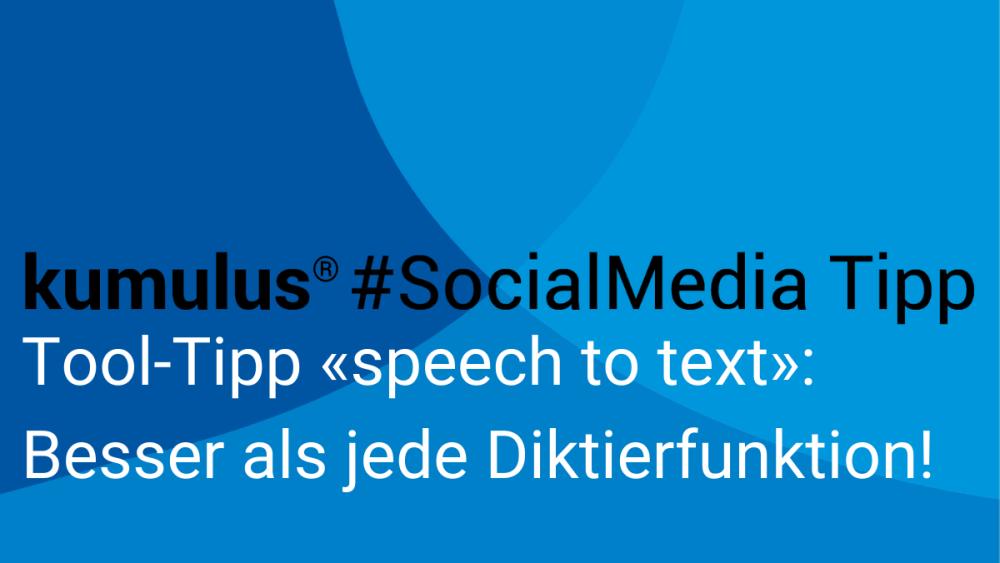 Tool Tipp für die Diktierfunktion zum Transkribieren von gesprochenem Text