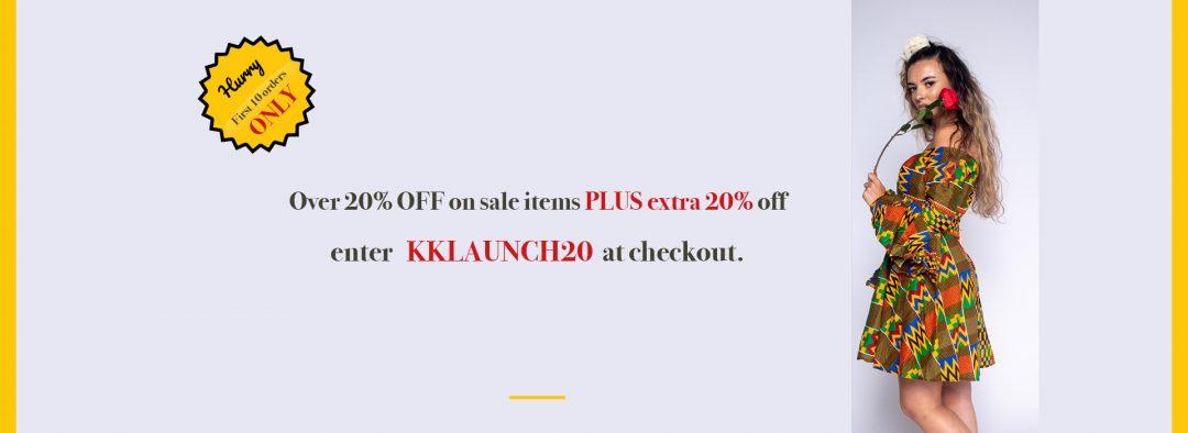 KunbiKouture Launch Website Offer Wide