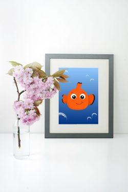 Plakát do dětského pokoje Nemo
