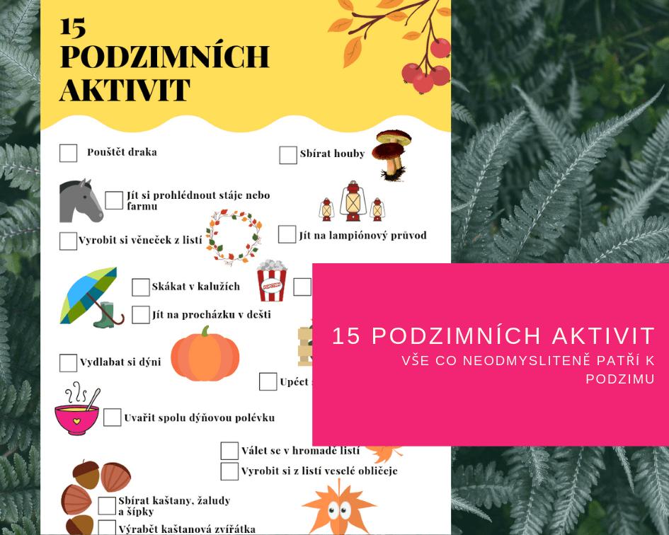 Mami, co budeme dělat na podzim? 15x podzimní aktivity pro děti