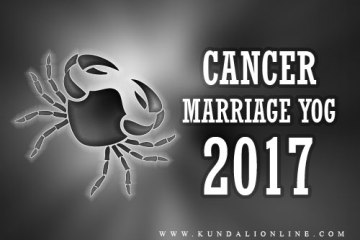 marriage for cancer in 2017
