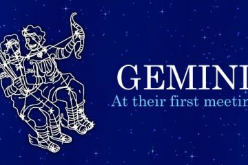 Gemini at their first meeting