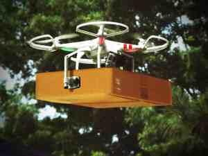 Lieferung Drohne Kundenorientierung