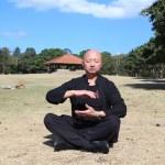 Master Wong Practises Qi Gong