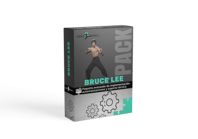 Pack Bruce Lee  automatizaciones de marketing