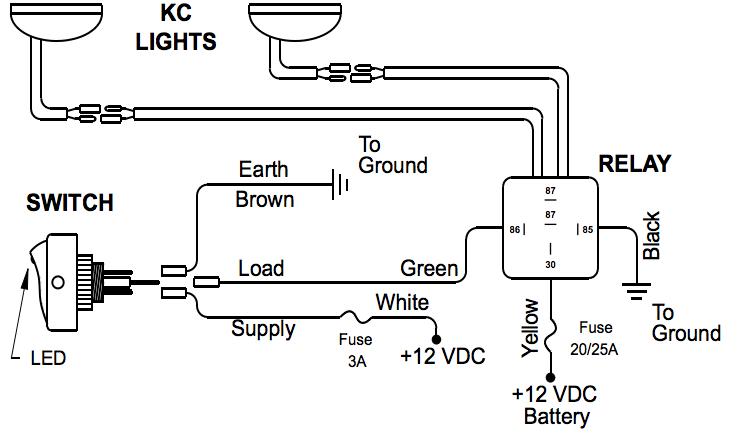 kc daylighter wiring diagram