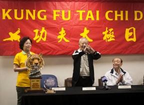 L-R: Gigi Oh, Wu Bin & Wang Peikun