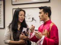 Taiji Master Zou Yunjian interviewed.