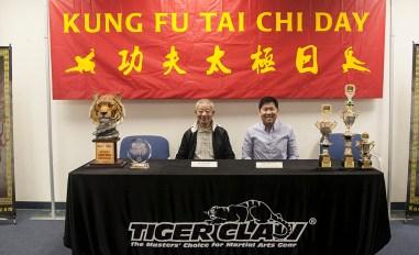 Press Conference: L-R Wu Bin, Jonny Oh