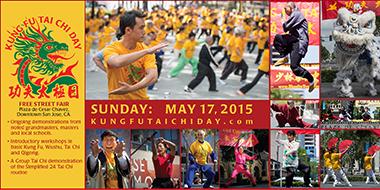 4th Kung Fu Tai Chi Day is Sunday May 17th 2015