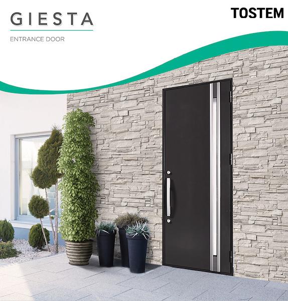ประตู Giesta ประตูทางเข้าบ้าน tostem lixil