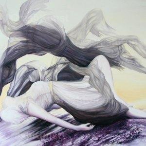 Kunst Kaufen: Original Ölgemälde auf Leinwand, 120 x 100 cm