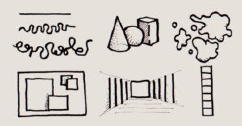 Bausteine der bildender Kunst