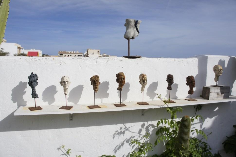 Skulpturen aus Terrakotta