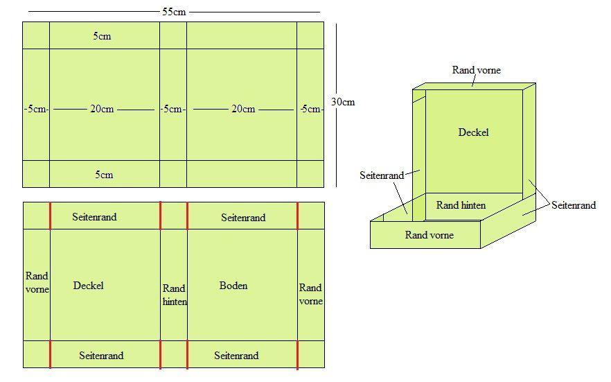 anleitungen bedruckte boxen zum basteln anleitungen. Black Bedroom Furniture Sets. Home Design Ideas