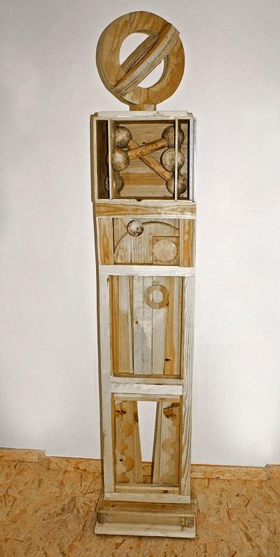 Merten Sievers, Stele II (Holz)