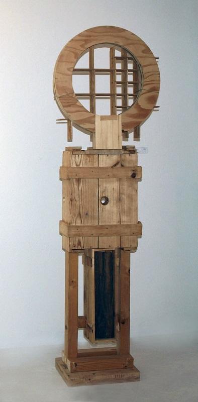Merten Sievers, Stele III (Holz)