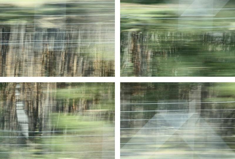 Mimi Wilden Kein Ort nirgends 1 - 4 Fotografie KunstGalerieHans Dresden