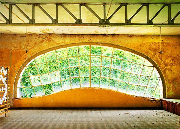 Hassan J. Richter - Muschelfenster, Fotografie 2011 (KunstGalerieHans)