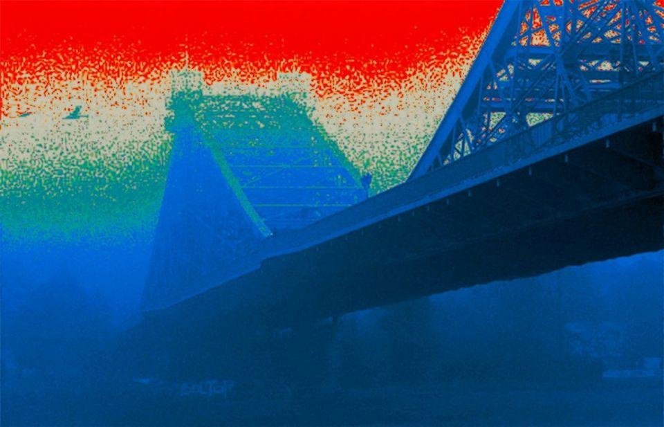 Thomas Went - Blaues Wunder IV (DigitArt) KunstGalerieHans