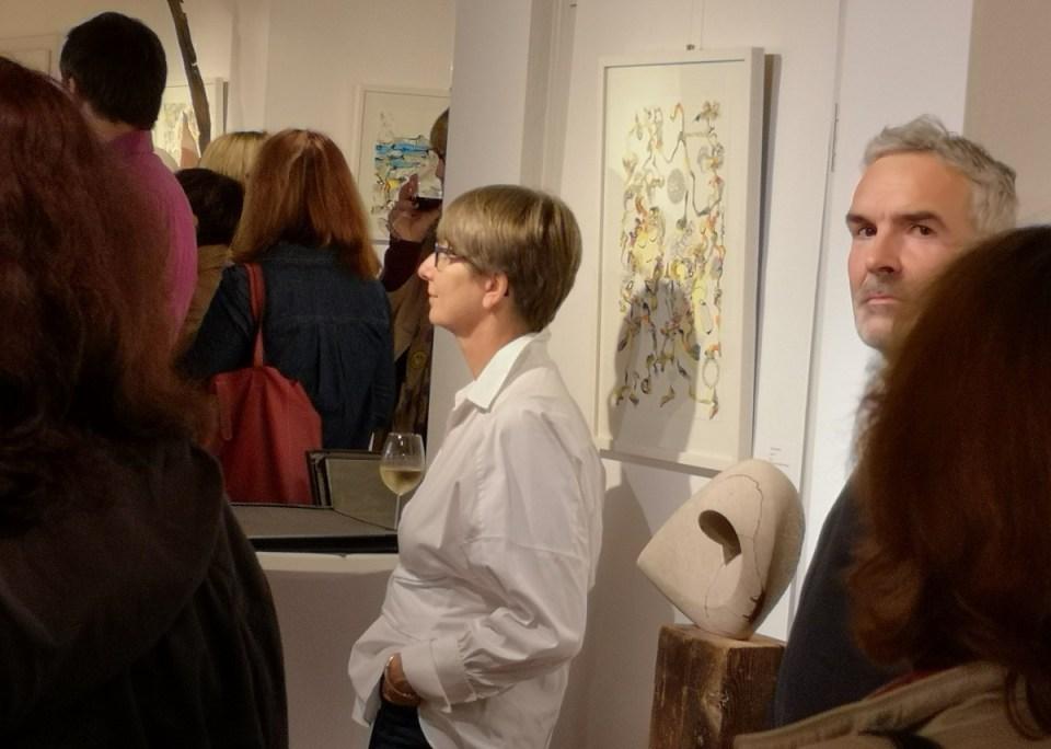 KunstGalerieHans - Das Andere im Gleichen - Künstler zur Vernissage