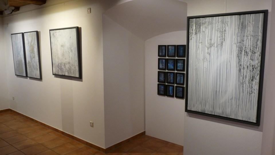 """Ausstellung """"Meer als Worte"""" in der KunstGalerieHans Dresden vorn"""