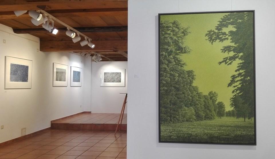 Blick in die Ausstellung Jörg Mai in der KunstGalerieHans 2019