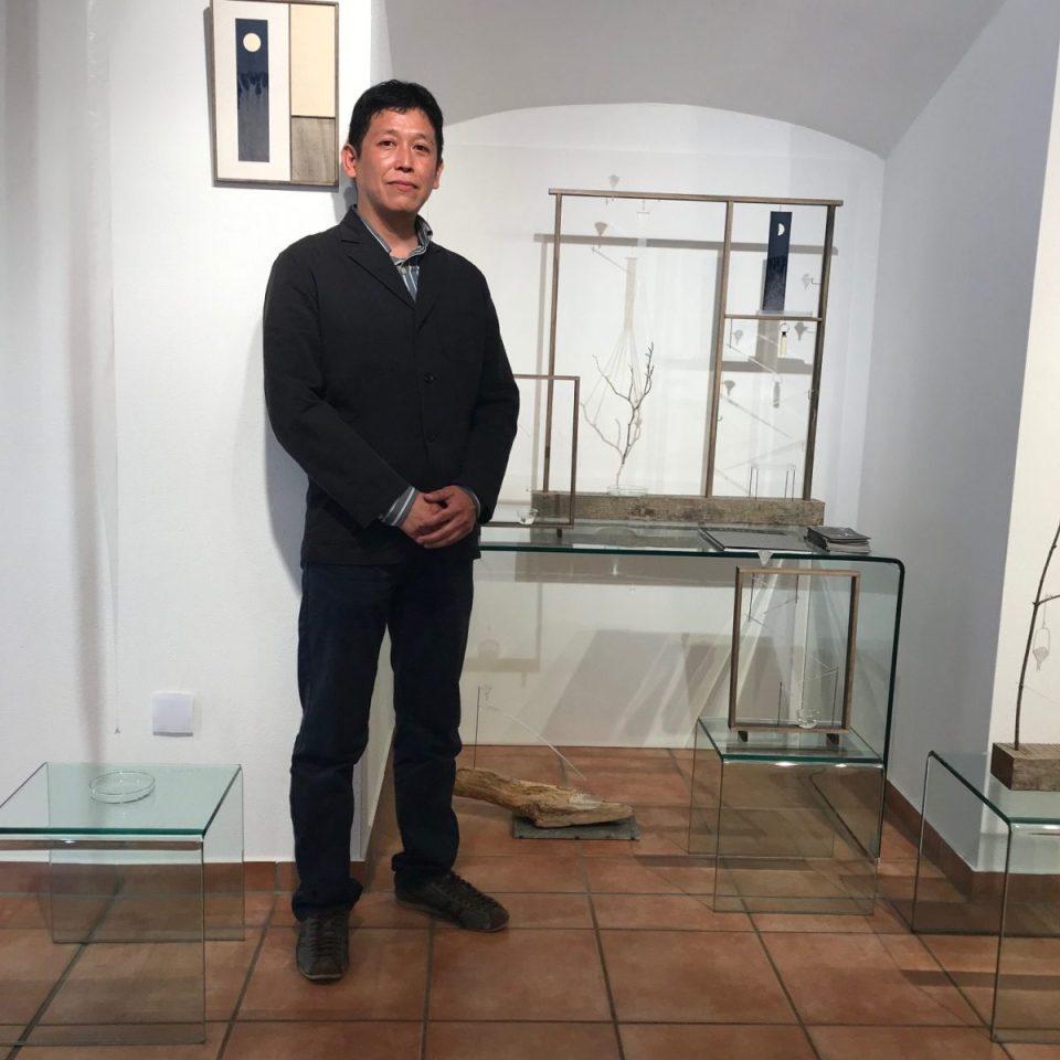 Daiichi Shishino - Water works in der KunstGalerieHans Dresden