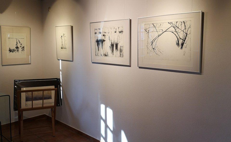 Ausstellung Grafiken Rita Geissler - KunstGalerieHans 03-05 2020