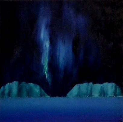 Aurora borealis by Ingunn J. M Reinsnes