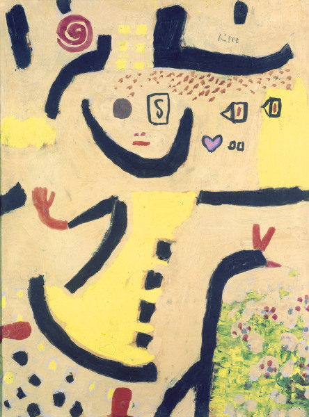 Paul Klee - A children's game in 1939.