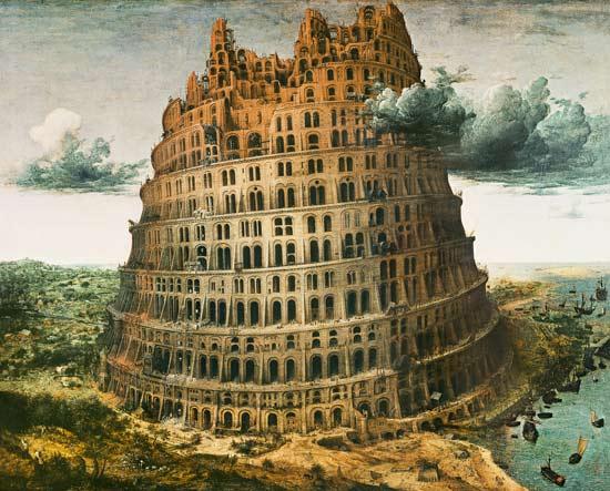 Bild: Pieter Brueghel d. Ä. - Turmbau zu Babel II