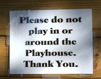 Do Not Play photo