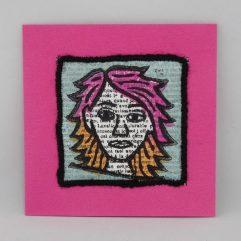 Kunst per post MA1901 roze