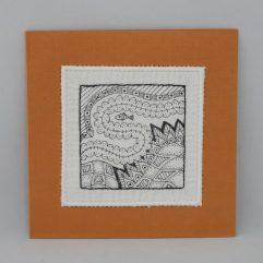 Kunst per post MA1903 oranje 2