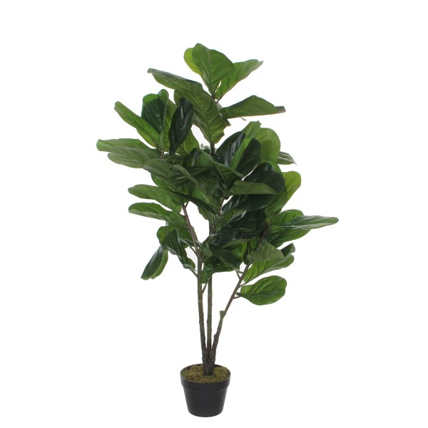 Mica Kunstplant Ficus Lyrata (h120xd60cm) - Kunstplantshop.nl