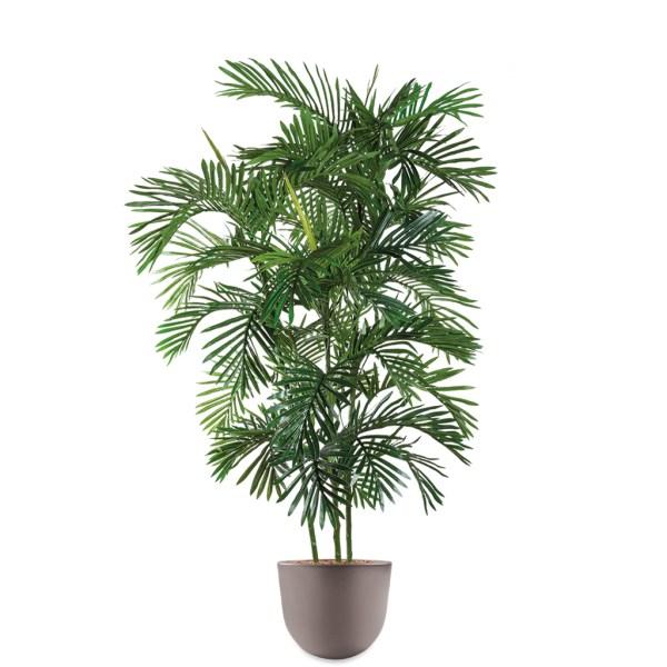 HTT - Kunstplant Areca palm in Eggy taupe H190 cm - kunstplantshop.nl