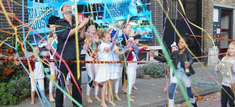 Na Crooswijk feest de Kunstroute door in Kralingen.