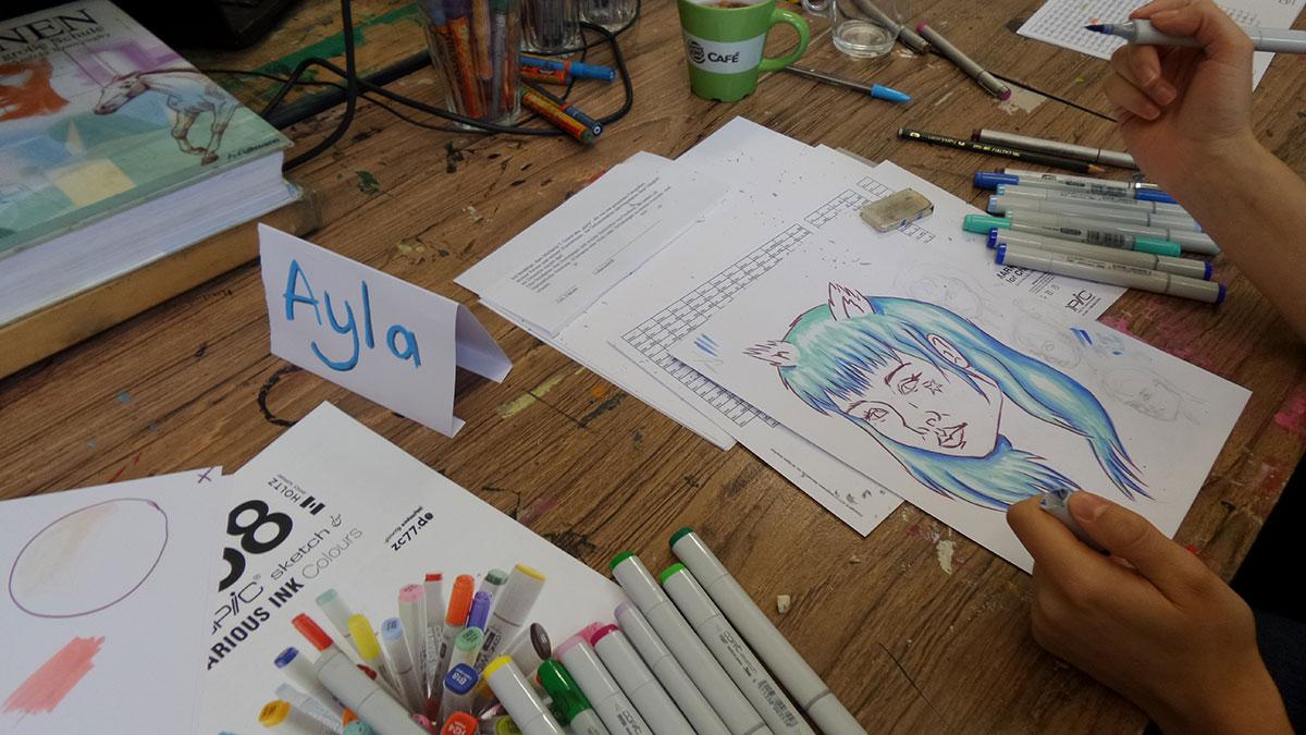 Copic Workshop 2015