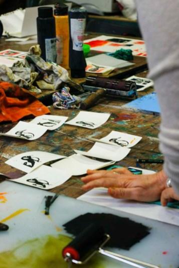 Workshop Druckgrafik 2016