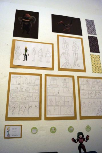 verschiedene Posen im Charakterdesign
