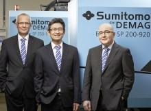 Sumitomo (SHI) Demag Geschäftsführung | Foto: Sumitomo (SHI) Demag