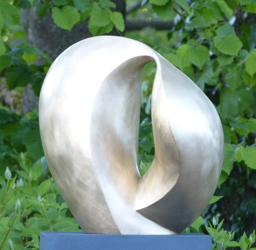 """Anfang"", Bronze, 2020, ca. 42 x 44 x 28 cm"