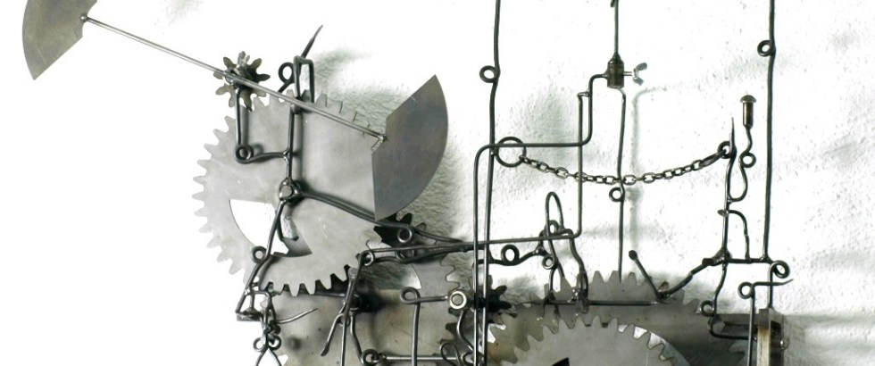 Turbulente Dissipation KunstZeug von Bernhard Jordi